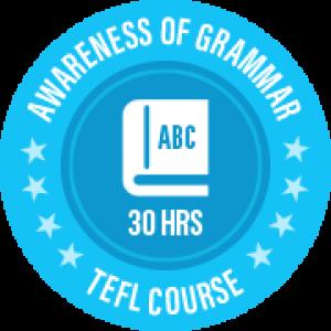 Awareness of Grammar TEFL Certificate