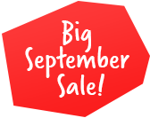 Big September Sale!