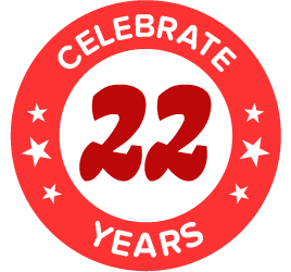Celebrate 22 years!