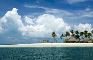 Tropical Thailand beach