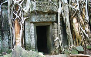 Doorway in Cambodia