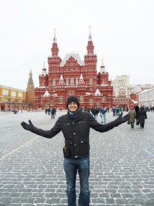 Tim in Moscow
