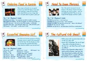 South Korean culture cards