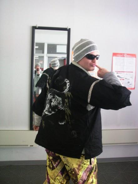 Danny in his snow gear