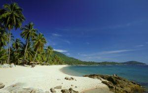 Tropical Thai beach
