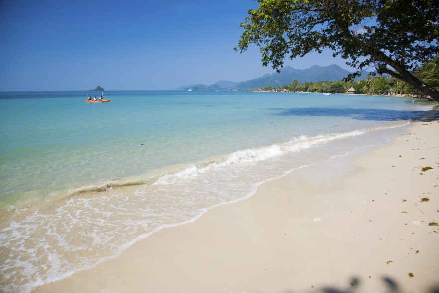 Photo of beach on island in Thailand, Ko Chang