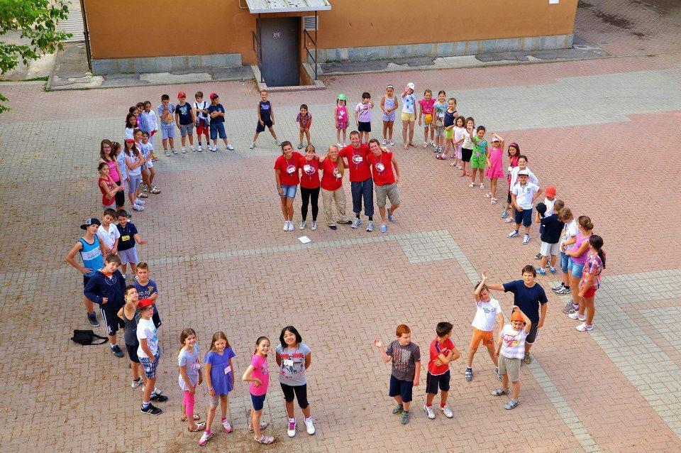 summer camp playground