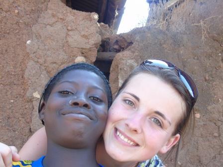 Kelsey in Ghana