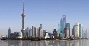 Shanghai Skyline. 2008.