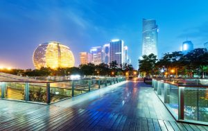 Hangzhou at dusk