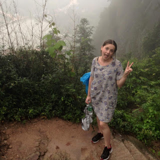 Kelsey in Pinjiang