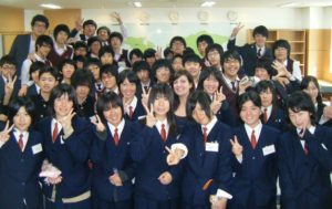 TEFL students in the classroom