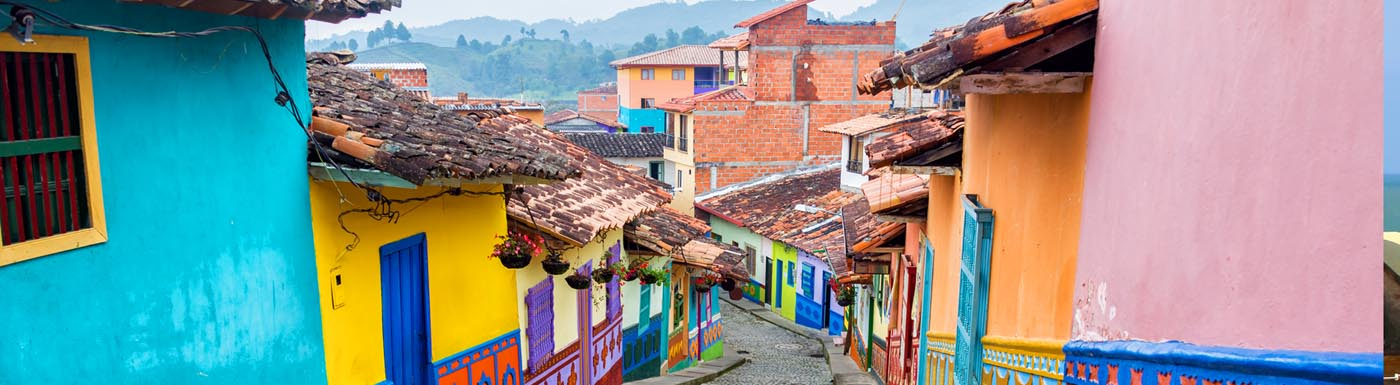 Street in Colombia