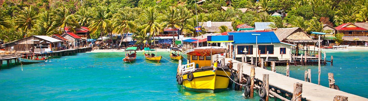 Cambodia bay