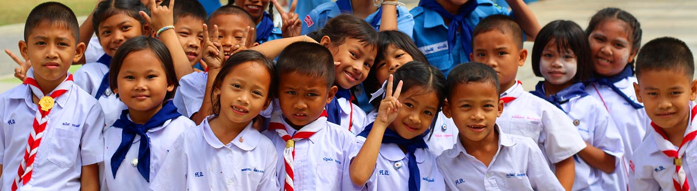 Kids in Thailand
