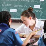 TEFL teacher in classroom