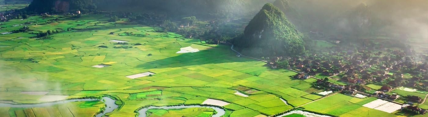 Countryside in Vietnam