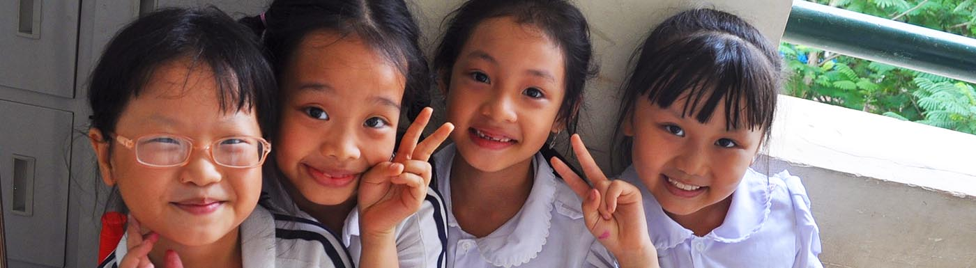 Vietnam children