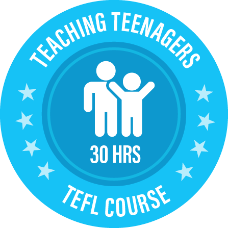 Teaching Teenagers 30 hours course logo from i-to-i