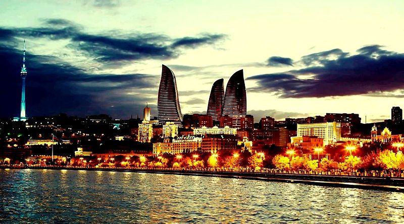 Bakının_Xəzərdən_panoramı by Legends never dies