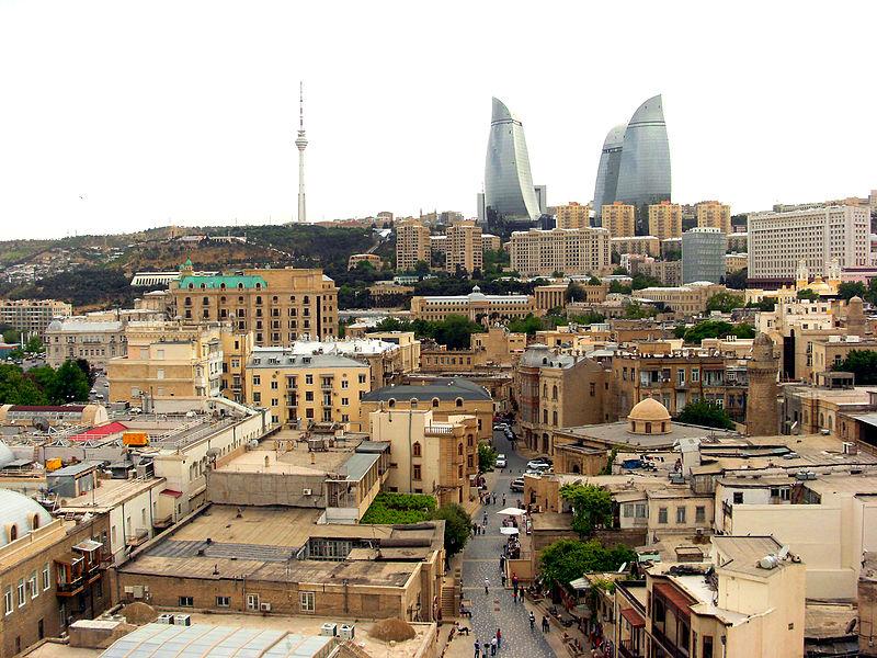 Baku by Khortan
