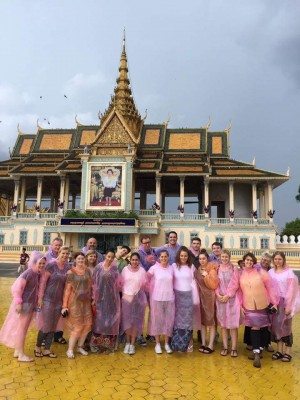 TEFL interns in Phnom Penh