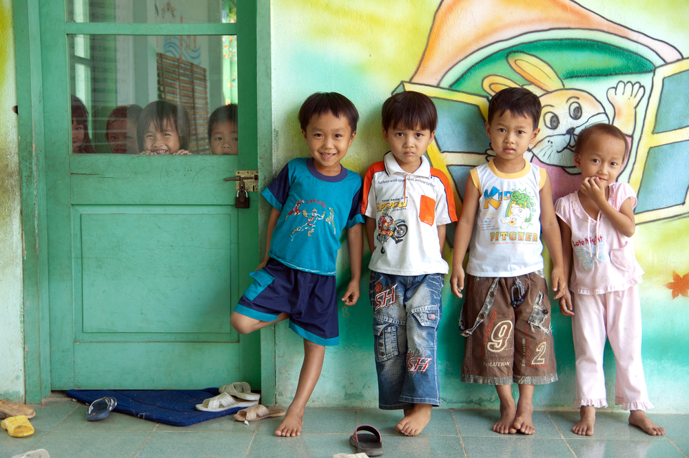 Thai children in primary school