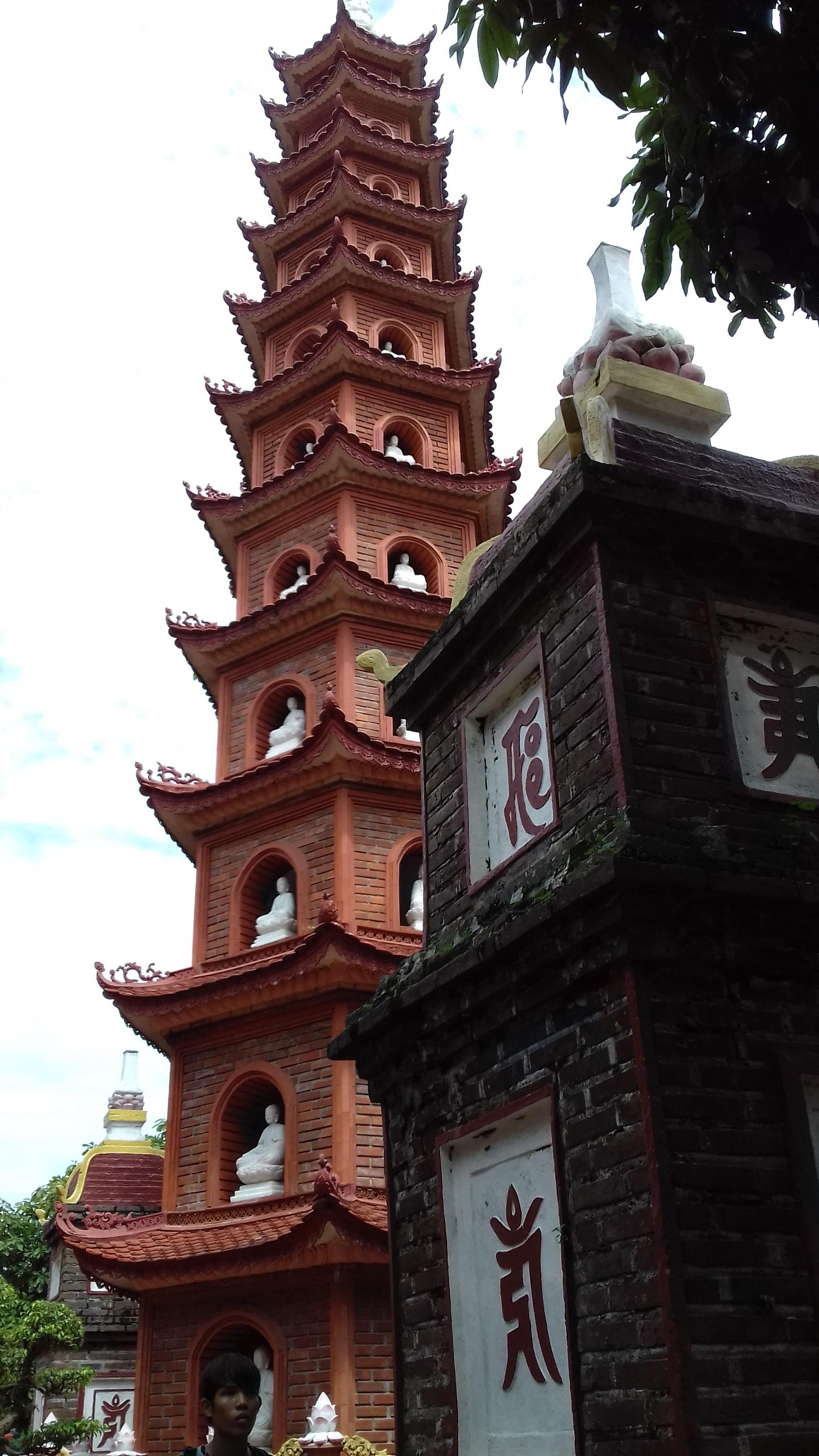 Hanoi's oldest pagoda, Vietnam