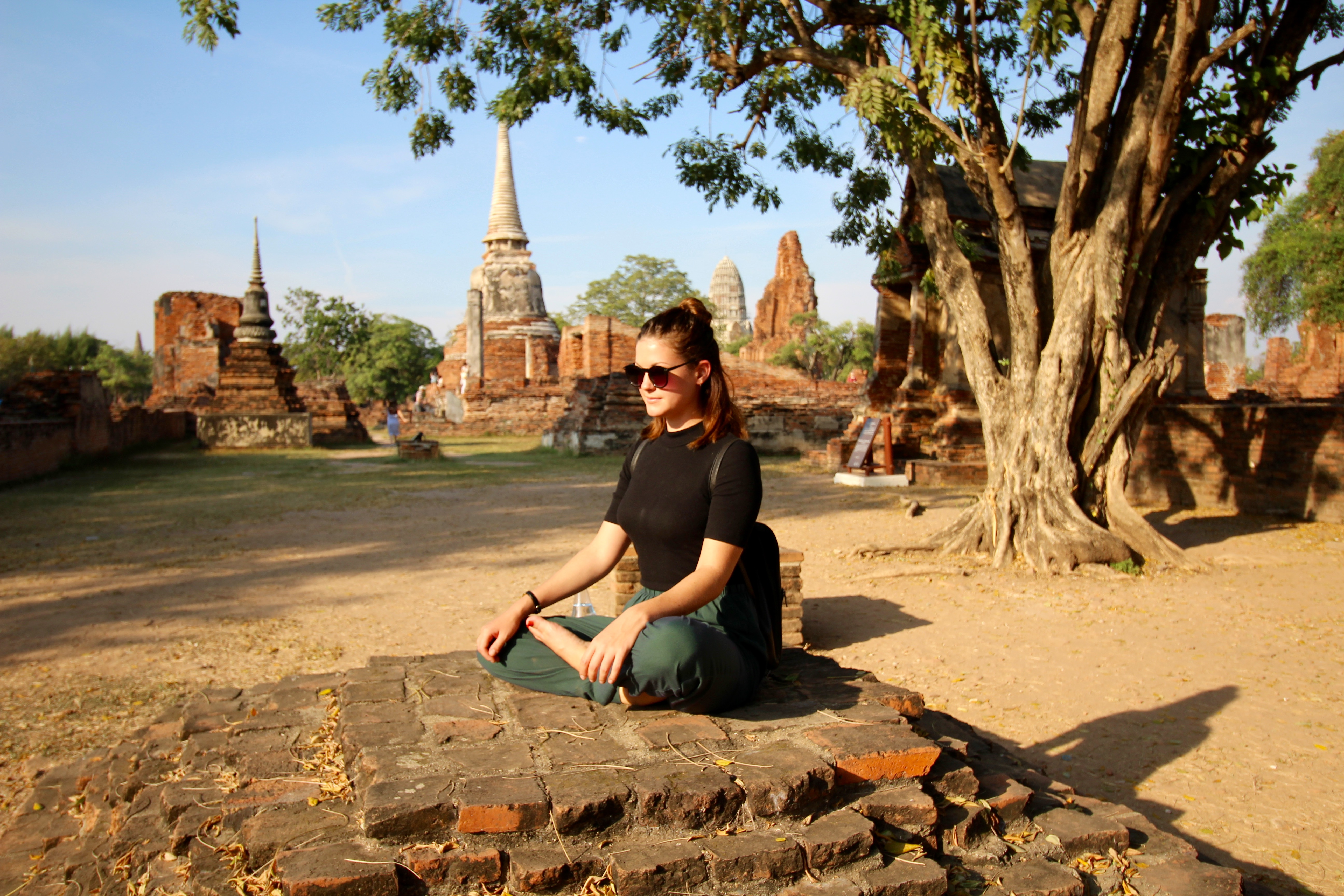 i-to-i intern Pashka in Ayutthaya, Thailand