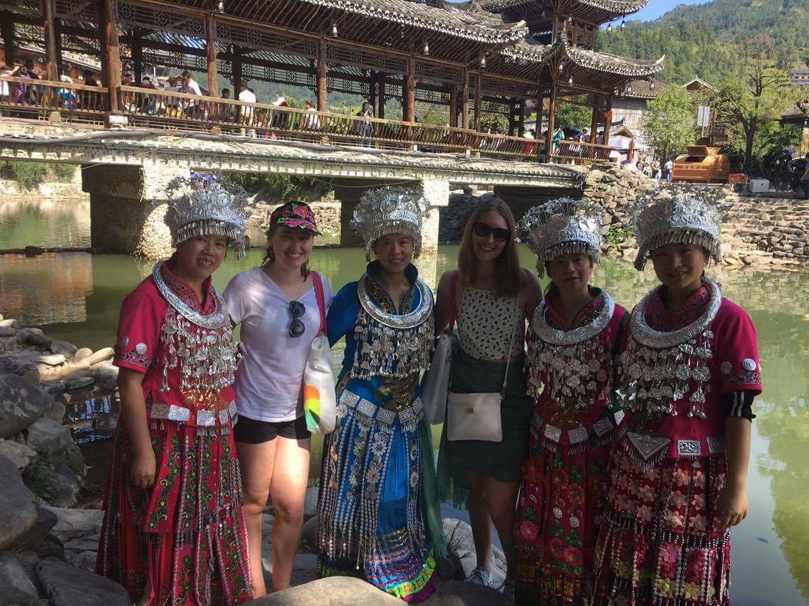 Traditional clothing of the Miao people in China