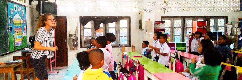 TEFL classroom in thailand