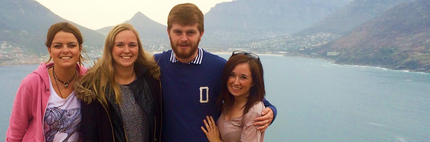 TEFL students in South Africa