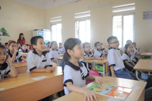 i-to-i TEFL teacher classrrom in Hai Phong Vietnam