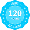 120 Hour TEFL Course Icon