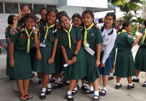 TEFL school children