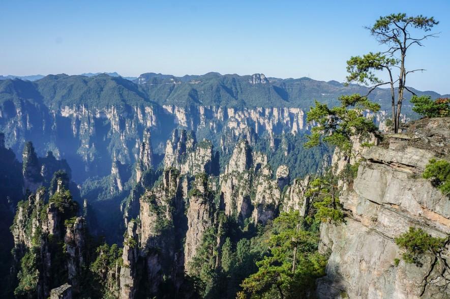 Mountains of Zhangjiajie in China