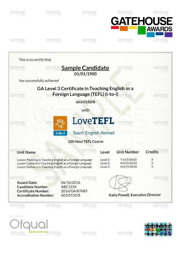 Accredited tefl certification - Restaurants riverside ca