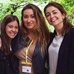 Three Spanish interns