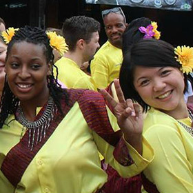 TEFL students in Thailand