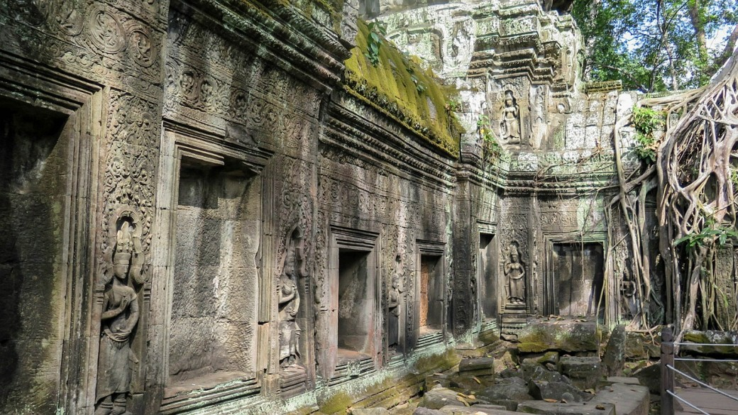 Ta Prohm temple in Angkor Wat, Cambodia