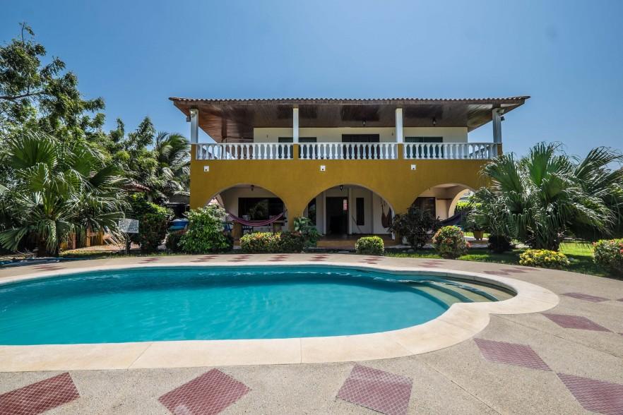 Swimming pool at the apartment in Santa Veronica