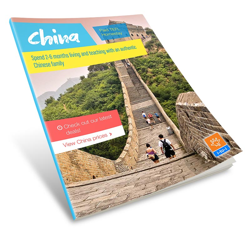 Paid China TEFL Homestay Guide Image