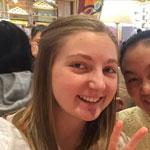 Rachel, Chinese au pair