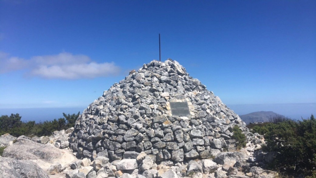 The Maclear's Beacon on Table Mountain