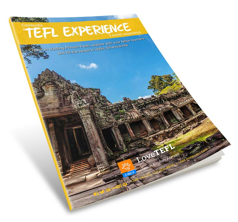 Download the Cambodia TEFL Experience Guide