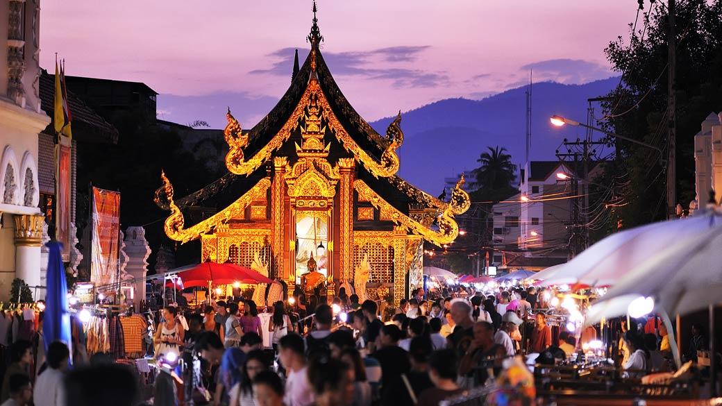 Chiang Mai Sunday Walking Street