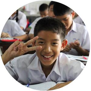 TEFL student smiling
