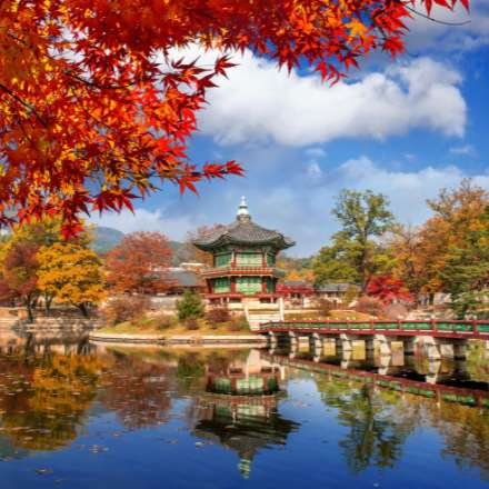 south korean temple