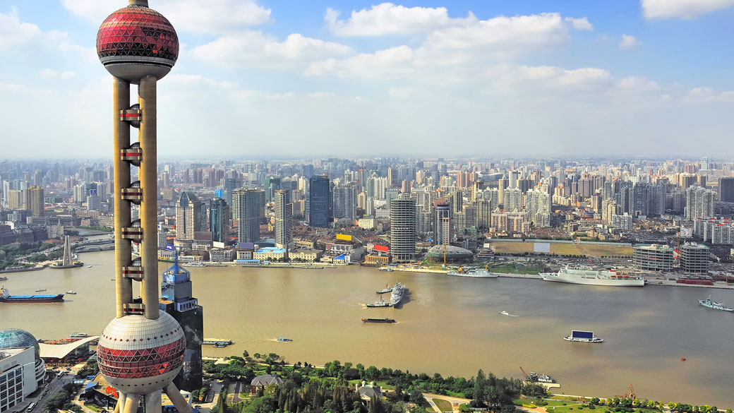 View Shanghai from on high at Shanghai Tower