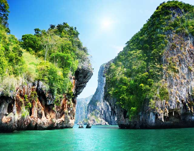 Beautiful islands in Thailand